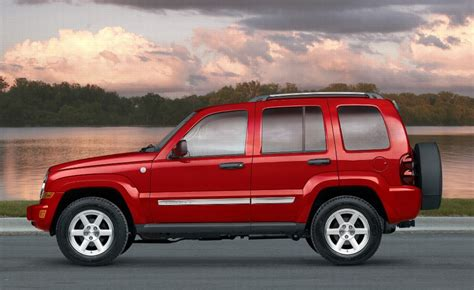 Jeep Liberty Competitors 2007 Jeep Liberty Pictures History Value Research News