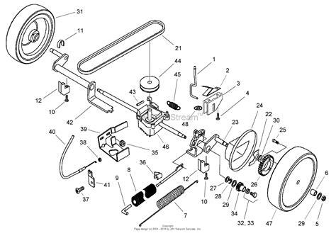toro mower parts diagram toro 21014 43cm recycler mower 2004 sn 240000001