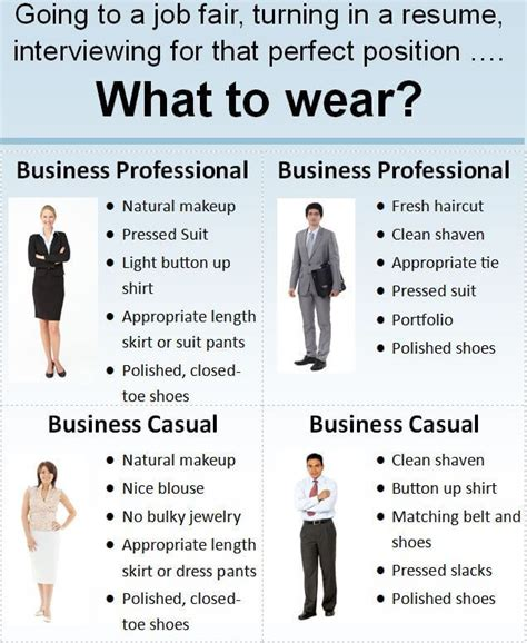 fashion friday what to wear to a career fair