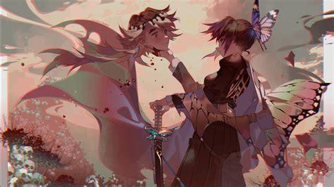 demon slayer shinobu kochou hd anime wallpapers hd