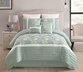 Aqua Comforter Set by 8 Maris Aqua Comforter Set