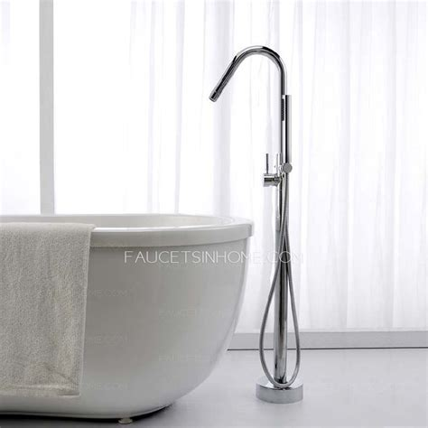 Modern Two Handle Freestanding Bathtub Shower Faucet