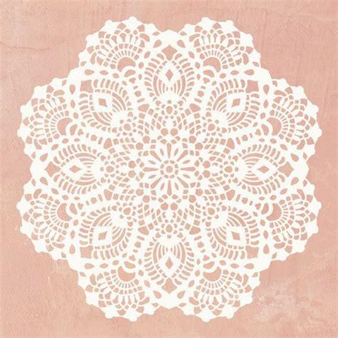 lace template lace doily stencil