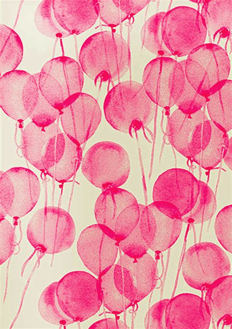 pink watercolor pattern friday s ffffound watercolour balloons emma louise layla