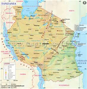 map of tanzania travel without a bon passeport still awesome diasporique