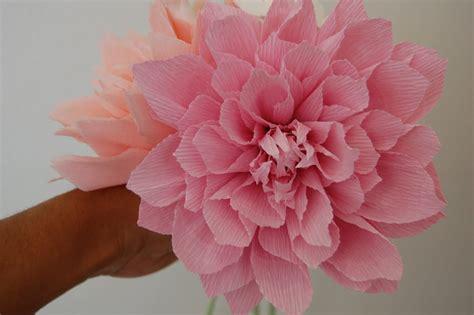paper dahlia flower tutorial pink dahlia sler for katie handmade paper flowers by