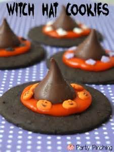 Winter Wonderland St Birthday Decorations - witch hat cookies party pinching