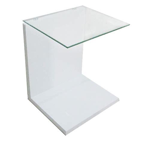 designer nachttisch aus glas design beistelltisch couchtisch glastisch nachttisch glas