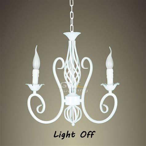 vintage wrought iron chandelier e14 ac100 240v 52 39cm 3pcs e14 candle wrought iron chandelier white vintage pendant l retro