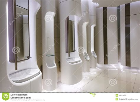 mens public bathroom modern mens restroom in an upscale shopping centre stock photo image 55623403
