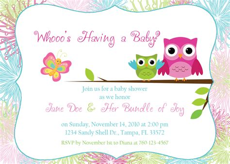 owl invitation template owl invitations template printable templates free