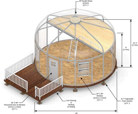 2 Bedroom Tiny House Plans by Yurt Fabric Building Series Glamping Yurts Tents