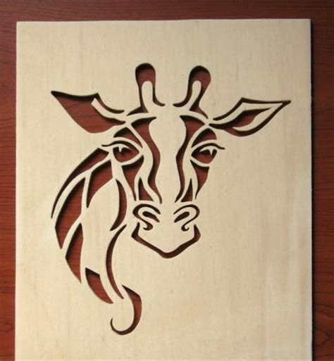free patterns for scroll saw woodworking free scroll saw patterns giraffe gogh my