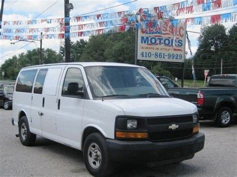 how things work cars 2007 chevrolet express 1500 navigation system sell used 2007 chevrolet express 1500 automatic 3 door van in finksburg maryland united states