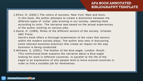annotated bibliography template apa get an apa annotated bibliography template annotated