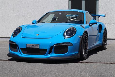 porsche blue porsche 991 gt3rs in mexico blue cartech ch