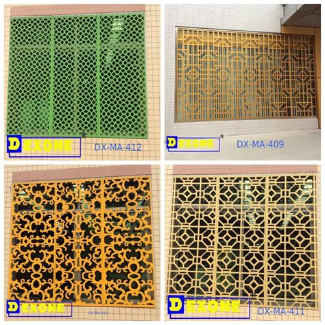 perforated pattern design software metal aluminium perforated decorative panel sheet for wall