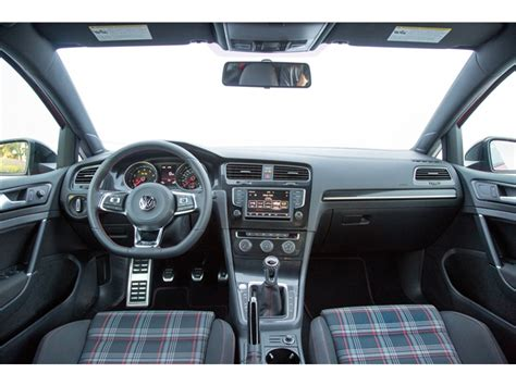 volkswagen gti interior volkswagen gti prices reviews and pictures u s