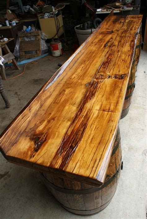 Best Wood For Bar Top by 25 Best Ideas About Bar Tops On Industrial