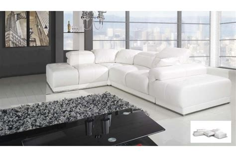 canape d angle cuir blanc canap 233 d angle blanc benley convertible canap 233 s d