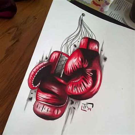 boxing tattoos designs boxing glove tattoos ideas and tips to choose it