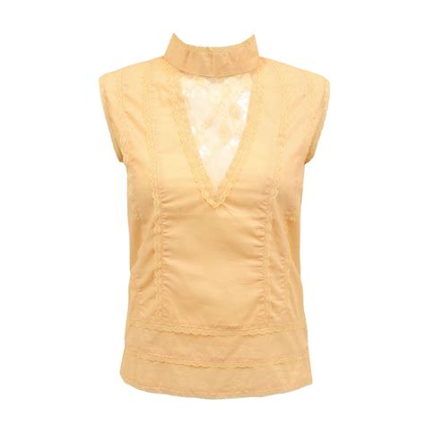 Blouse Retro Embroidery Shirt womens sleeveless cotton embroidered top summer vintage shirt blouse ebay