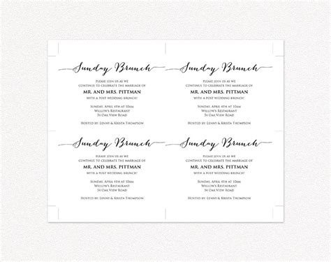 wedding information card template stunning wedding information card template gallery