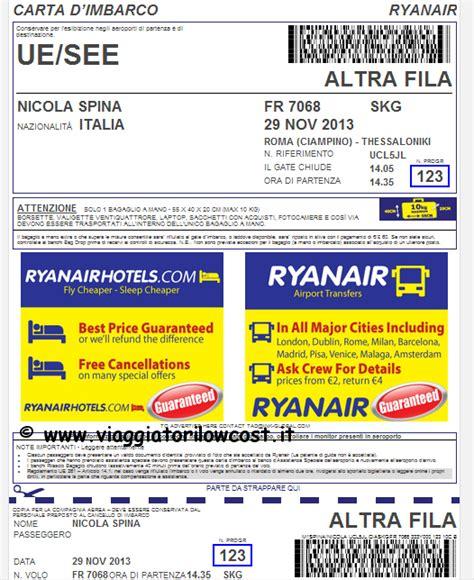 mobile check in ryanair carta d imbarco mobile check in mobile ryanair con
