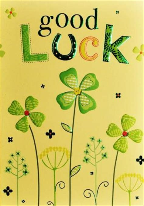 printable card good luck good luck cards greeting cards picture this cards