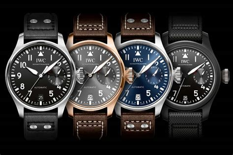 best iwc watches sihh 2016 introducing the new iwc big pilot s