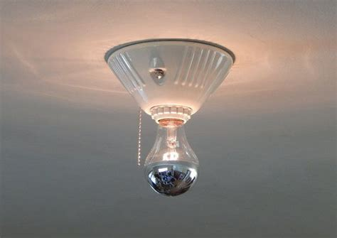 Bathroom Ceiling Light With Pull Chain 1000 Ideas About Pull Chain Light Fixture On