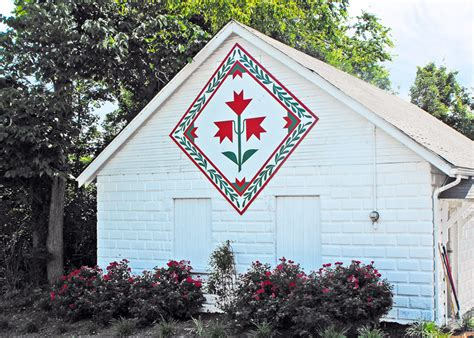 Barn Quilt by The Literate Quilter The Heartland S Grass Roots Movement
