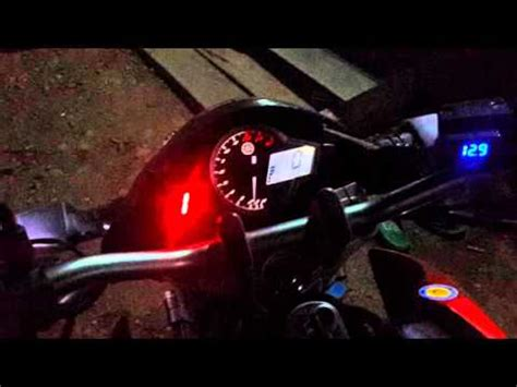 Lu Led New Vixion Lightning diy simple led gear indicator doovi
