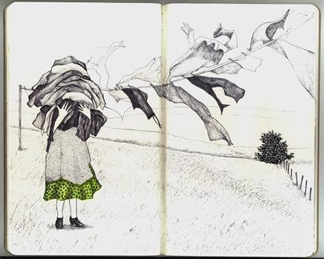 sketchbook library untitled media andrea kowch 353378