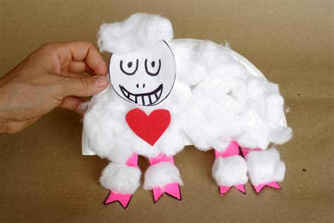 Paper Plate Sheep Craft - sheep paper plate crafts