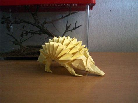 Origami Hedgehog - 38 best images about origami on nests