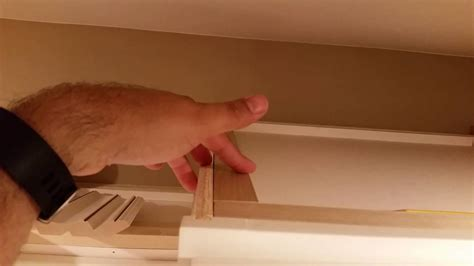 installing crown molding on cabinets diy installing large crown molding on rta kitchen cabinets