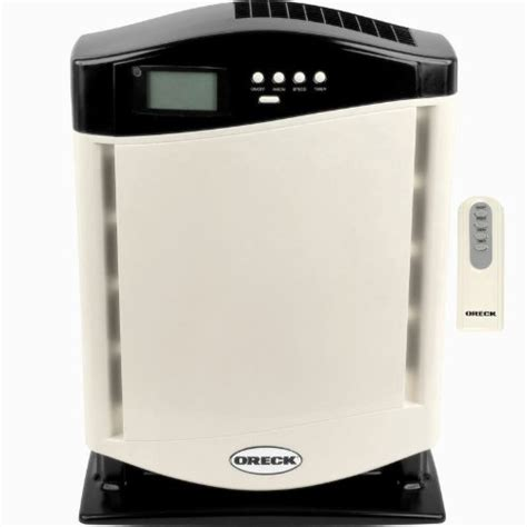 oreck air purifier with hepa filter silver appliances for home