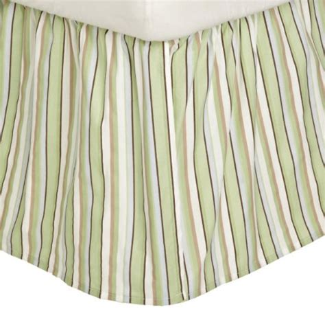 Brown Crib Dust Ruffle by Carters Everyday Easy Dust Ruffle Blue Green Brown In The