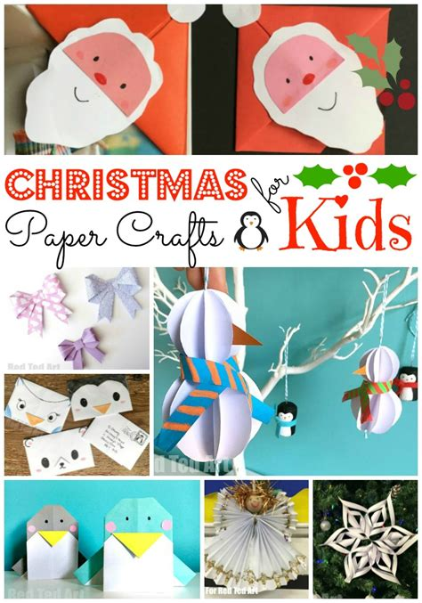 Crafts With Paper For - paper crafts for ted s