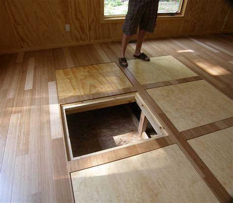 floor storage pre fab cottage
