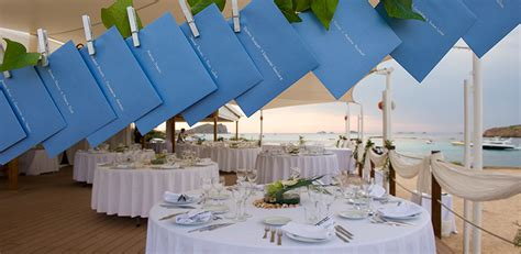 Mediterranean Style Wedding - how would you like to decorate ses roques restaurant on your wedding day cala conta beach