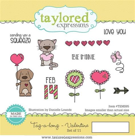 Taylored Expressions Cling Mounted Rubber St Tag A