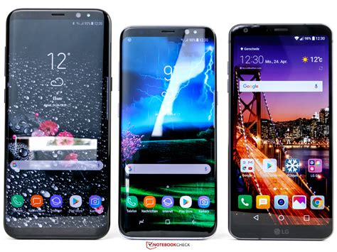 samsung smartphone test samsung galaxy s8 smartphone notebookcheck tests