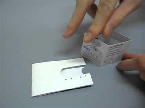 tam cargo business card template spiral colour 3d box business card