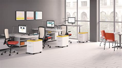 hon adjustable height desk coordinate height adjustable base hon office furniture