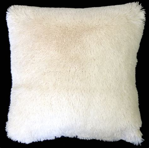 soft couch pillows soft plush cream 20x20 throw pillow from pillow decor