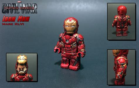 Lego Iron 46 Civil War Ori custom lego iron mk 46 captain america civil war arm