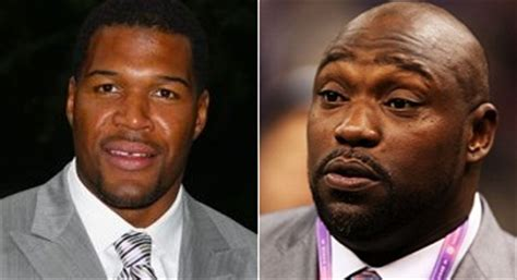 what kind of haircut does michael strahan have warren sapp michael strahan does not have a hall of fame