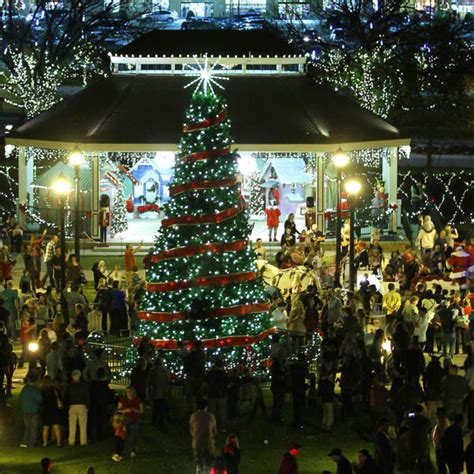 fort worth tree lighting 2017 get in the spirit with top dallas fort worth tree